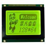 Monochrome Graphic LCD Display Module Dot Matrix Type Electronic Tag Usage