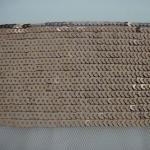 スパンコールのスパンコールの刺繍された生地