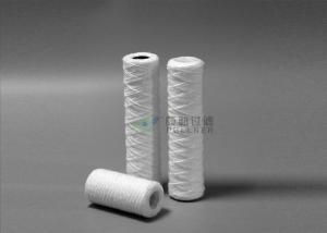 China 5 Micron Pp Wound Cartridge Filter Water , String Wound Water Filter Cartridges on sale