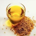 亜麻仁オイル、色:明確で明るく黄色いオイル;指定:リノール酸:12.0-30.0%酸価値:0.2Max