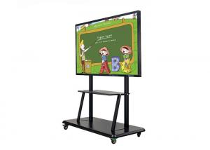 China Ultra Thin Smart Interactive Whiteboard Information Display High Definition For Bank on sale