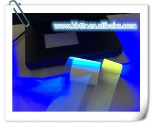 China Under ultraviolet light invisible blue printer uv ribbon on sale