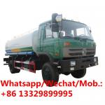 HOT SALE! Dongfeng water irrigation 15000 liter drinking spray gun street sprinkler truck, Dongfeng water tanker truck