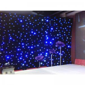 China Singapore factory Led Star Cloth stand star curtain led event decoration on sale