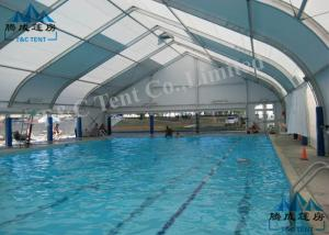 China Outdoor Curved Tents For Sporting Events , UV Resistant Heavy Duty Party Tent on sale