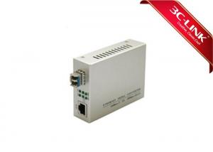 China Durable Single Mode To Multimode Fiber Converter Supporting Flow Control 26×70×93mm on sale