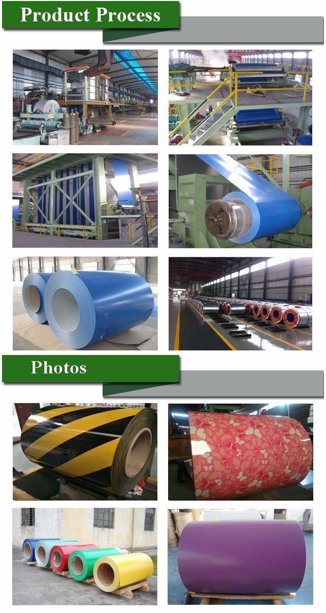 3003 Aluminium Color Coated Coil/Color Paint Steel Coil/PPGI