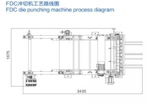 Quality Disposable Paper Cups Flat Bed Die Punching Machine FDC 850 For Paper Box for sale