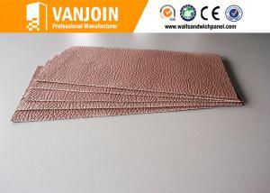 China Flexible Fireplace Decorative Ceramic Wall Tile 2.5 Thickness Irregular Panel on sale