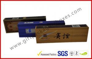 China Elegant Colorful Printed E Cigarette / Cigar Gift Box  , Custom Rigid Board Tobacco Gift Packages on sale