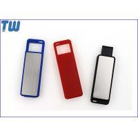 Sliding UDP Chip 3D Transparent Logo LED Light 64GB USB Flash Pen Drive