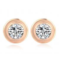 Diamond Earring Fashion Jewelry Stud Earrings Stainless Steel Diamond Erring for Girs