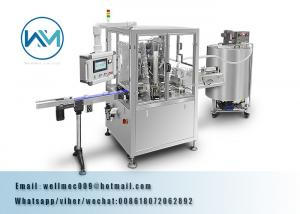 China High Speed Rotary Liquid Filling and Sealing Machine for Jam, Juice on sale