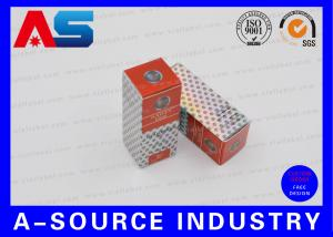 China Medicine Custom Printed Boxes Pharmaceutical Vial Boxes Hologram With Labels on sale
