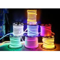 China 7W 700LM 110V Flex LED Neon Tube Light For Indoor Decoration Warm White on sale