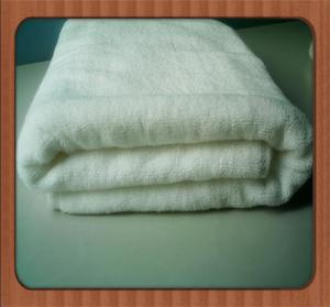 China 70*140cm 100% cotton Bath Towel/customized embroidery logo with dobby border hotel towel on sale