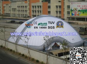 China Giant Inflatable Tent 18m diameter ,  White Inflatable Dome  Hire For Events on sale