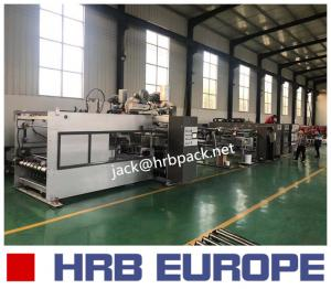 China High Efficiency Corrugated Carton Box Making Machine Europe CE Standard Case Maker on sale