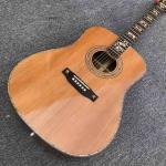 Acoustic Guitar,Solid Korean pine top,OEM Ebony fingerboard 41 inch 00045 Acoustic Guitar