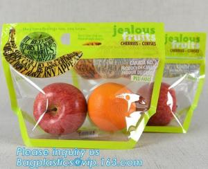 """3000 Bags 11/"""" x 17/"""" Case of 4 Rolls Clear Perforated Produce Bags"""