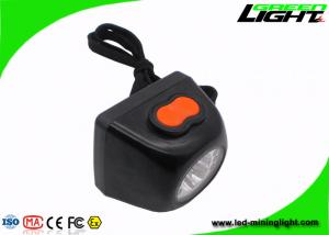 China Anti - Explosive Mining Cap Lights 8000 Lux Brightness With Safety Rope on sale