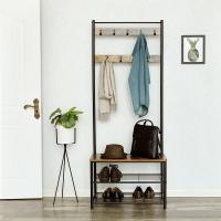 China Coat Rack with Hooks, Free Standing Coat Stand, Coat Stand, Hallway Furniture, HSR41BX on sale