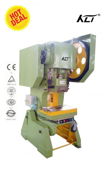 G23 40a Open Back Crank Press Machine For Steel Stamping High