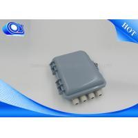 FTTH Fiber Optic Components Mini Fiber Optic Terminal Box For CATV Networks
