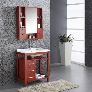 China Free Standing Single Sink Bathroom Vanity (A-Z105) on sale