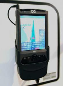 China 13.5MHZ 1D/2D Barcode scanner bluetooth storage Marvell PXA310 ( 624MHz ) Handheld PDA Devices on sale