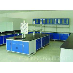 China Lab Table Tops Laboratory Work Benches 304 SUS Phenolic Resin Epoxy Resin Steel on sale