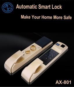 China Smart Digital Door Lock Fingerprint Automatic Smart Door Lock Reviews Best Automatic Door Locks for Houses on sale