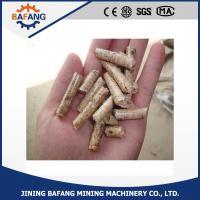 China 暖房装置のための100%のマツ木棒の形6-8mmの木製の餌 on sale