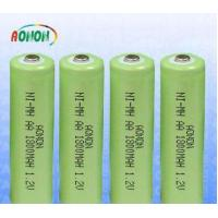 China Rechargeable NI-MH Battery Pack   1800mah AA 1.2v Nimh Battery on sale