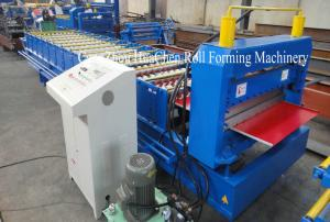 China Galvanized Metal Roofing Sheet Roll Forming Machine Automatic Standing Seam on sale