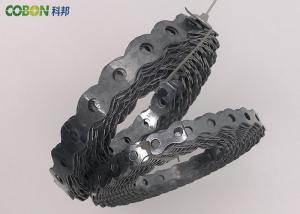 China 円形にされた金属の固定バンドHVACの管はバンディング ケーブルの導通のダクティングを留めます on sale