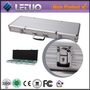 China China supplier aluminum case rfid poker chip metal tool box on sale