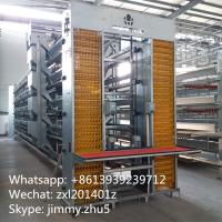 China Automatic Poultry Farming Equipments Galvanized H Type Laying Hens Battery Chicken Coop For Sale on sale