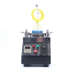 China Big Capacity Fiber Optic Polishing Machine For FC SC And ST Connectors on sale