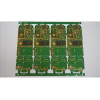 FR4 1.6mm 1OZ Multilayer PCB Manufacturing Process For Telecommunications