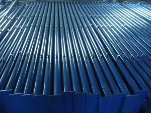 China 89x4mm Sidewalk bridge leg blue powder coated on sale