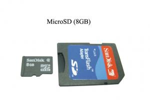 China MMC Flash Memory Card Mobile Phone Replacement Micro SD Card 8GB Capacity on sale