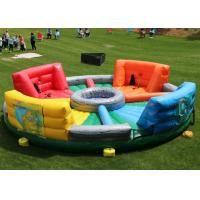 China 0.55mm PVC Inflatable Sports Games / Hungry Hippo Chowdown For Kids And Adults on sale