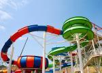 Water Park Slide For Family and Hotel Resort / Aqua Park Swimming Pool Equipment
