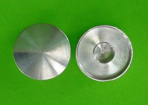 China Tampões de extremidade de alumínio do óxido de prata para o conector montado 15mm x 20mm on sale