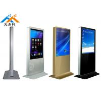 Heavy Duty Floor Standing Digital Signage Monitor 49 Inch For Shopping Mall