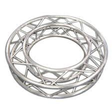 China custom Outdoor Lighting Aluminum Stage Truss Square Circle for Square Bolt Truss on sale