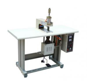China Semi Automatic Ultrasonic Spot Welding Machine For Face Mask Earloop Welding on sale