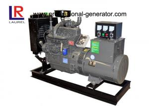 China 380V 4 Cylinders 40kw 50kVA Plant Open Diesel Generator Set with Water Cooling 3 Phase on sale