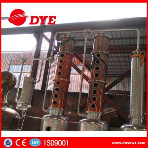 Beautiful Design Copper Distiller Gin Distillery Machine